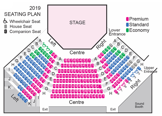 2019 Theatre Seating Map - Chemainus Theatre Festival on prague map, imsa map, inflight smoking, first class, economy class, arrival card, business class, helmet map, airline meal, departure card, java map, lost luggage, sky marshal, 2010 senate map, frankia map, airline seat, baggage allowance, bereavement flight, airsickness bag, in-flight entertainment, airline ticket, fsm map, basket map, windshield map, floor map, leg map, hispano map, un flag map, trolley map, airport check-in, iata airline designator, sao map, premium economy,